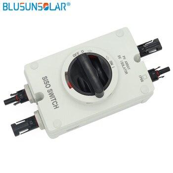 1 Uds lote de alto rendimiento Solar eléctrico Solar protección aislador 4P / 32A IP66 1200V para sistema de energía Solar 1