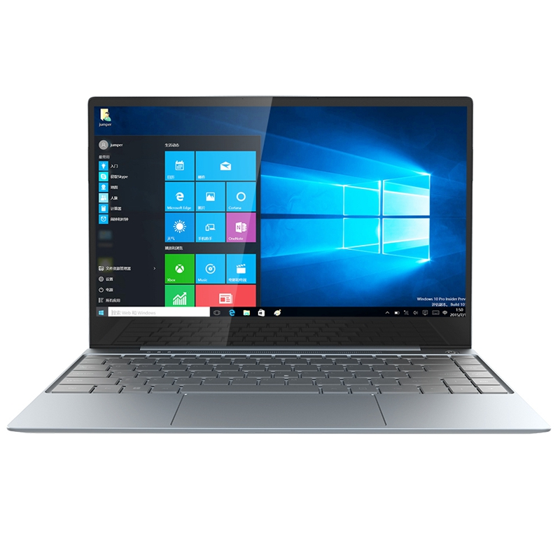 Jumper EZbook X3 PRO 13.3 Inch IPS Laptop Thin Metal Body Inter N4100 8GB LPDDR4 180GB SSD 2.4G/5G WiFi Notebook EU Plug