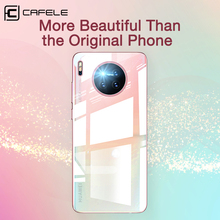 CAFELE for Huawei Mate 30 Pro Case Soft TPU Ultra Thin Luxury Plating Cover Transparent Shining Back Case for Huawei Mate 30