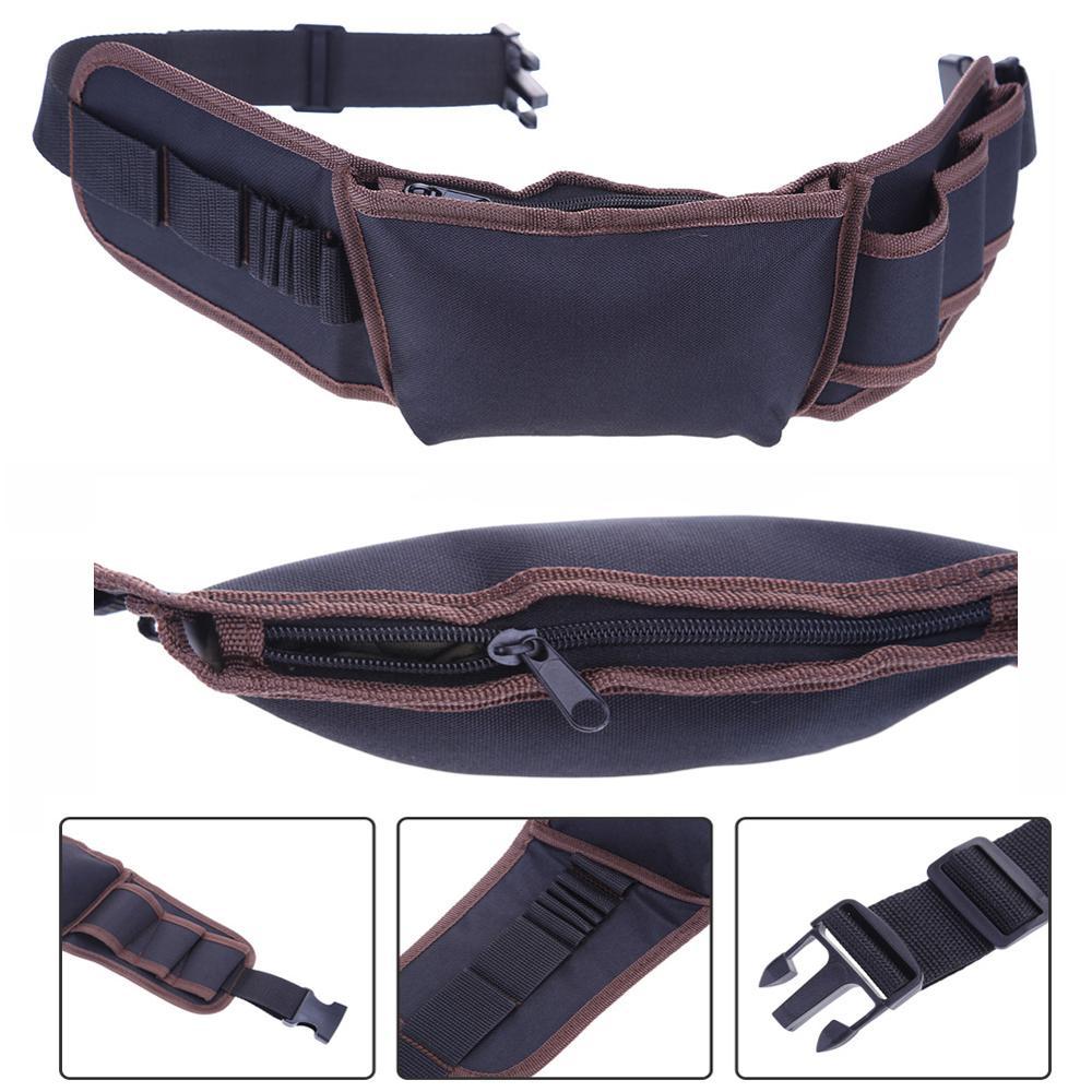 Waterproof Waist Tool Bag Electricians Tool Utility Storage Holder Convenient Organizer Adjustabe Belt Tool Bag Tool Organizer