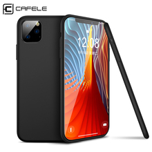 Cafele Matte Soft TPU Case for iPhone 11 pro MAX Ultra-thin Comfortable Cover 2019 Anti-fingerprint