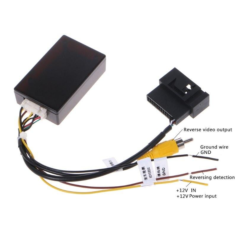 Car Backup Camera Rearview RGB To AV Converter Adapter Box ForVolkswagen New