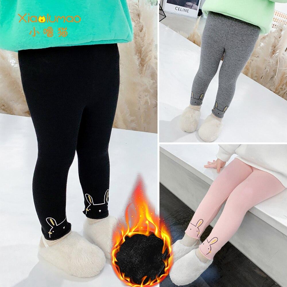 Купить xiaolumao детские леггинсы зимняя одежда для девочек теплые