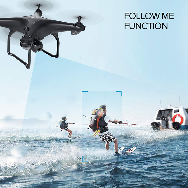 Potensic D58 Upgraded GPS Drone with Camera 1080P 5G WiFi FPV Transmission RC Quadcopter 18mins Max Flight Time