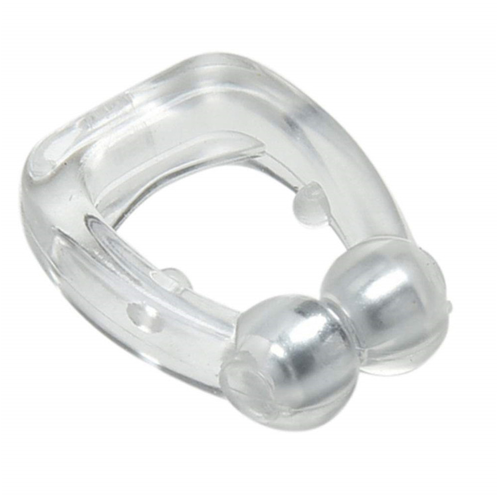 Reusable Effective Silicone Transparent Apnea Guard Nose Breathe Smooth Anti Snore Clip Safe Personal Health Care Sleeping Aid