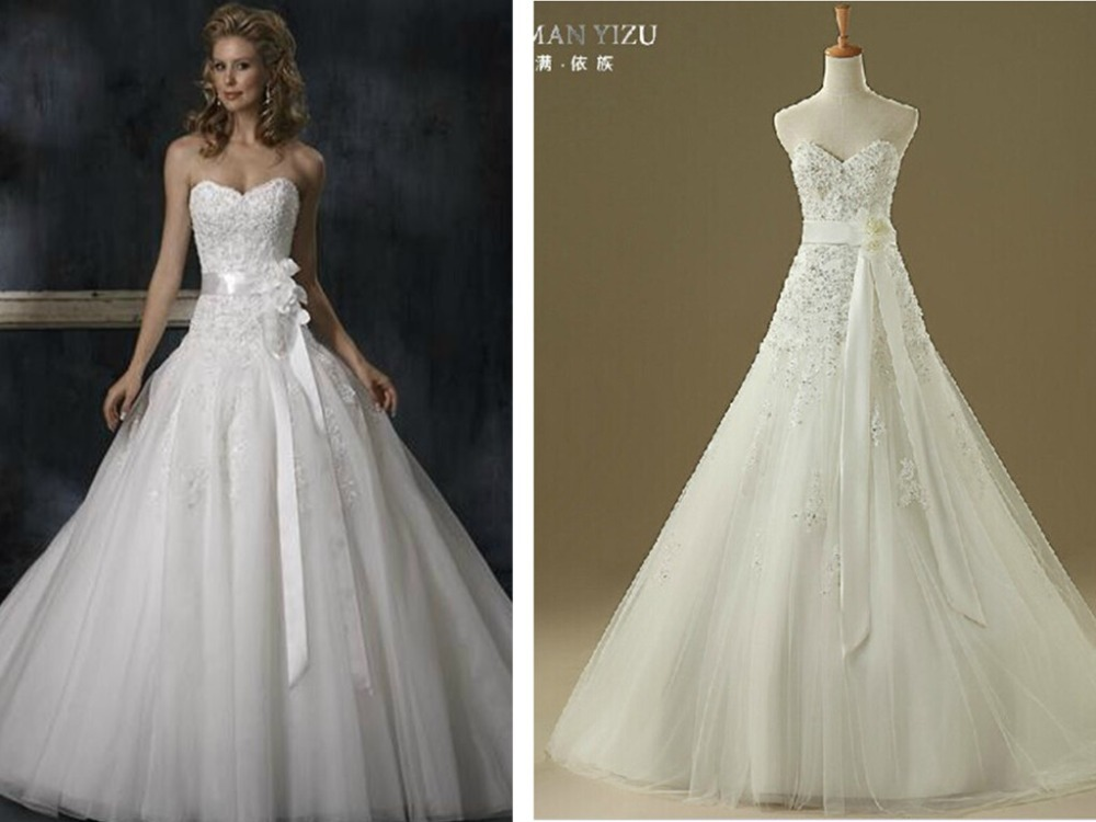 2016 Vintage Wedding Dress Free Shipping Casamento New Arrival Vestido De Noiva Sexy Sweetheart Handmade Flower Belt Bride Gown