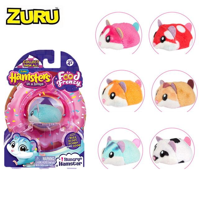 Hamsters in the Series 2 Mini cake shop Bakery Food Frenzy Hamster with Accessories Toys Birthday Surprise Kids Gift 2