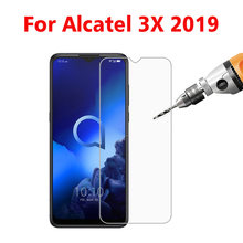 2PCS Tempered Glass For Alcatel 3X 2019 5048I Screen Protector Toughened protective film For Alcatel 3X 2019 5048I glass(China)