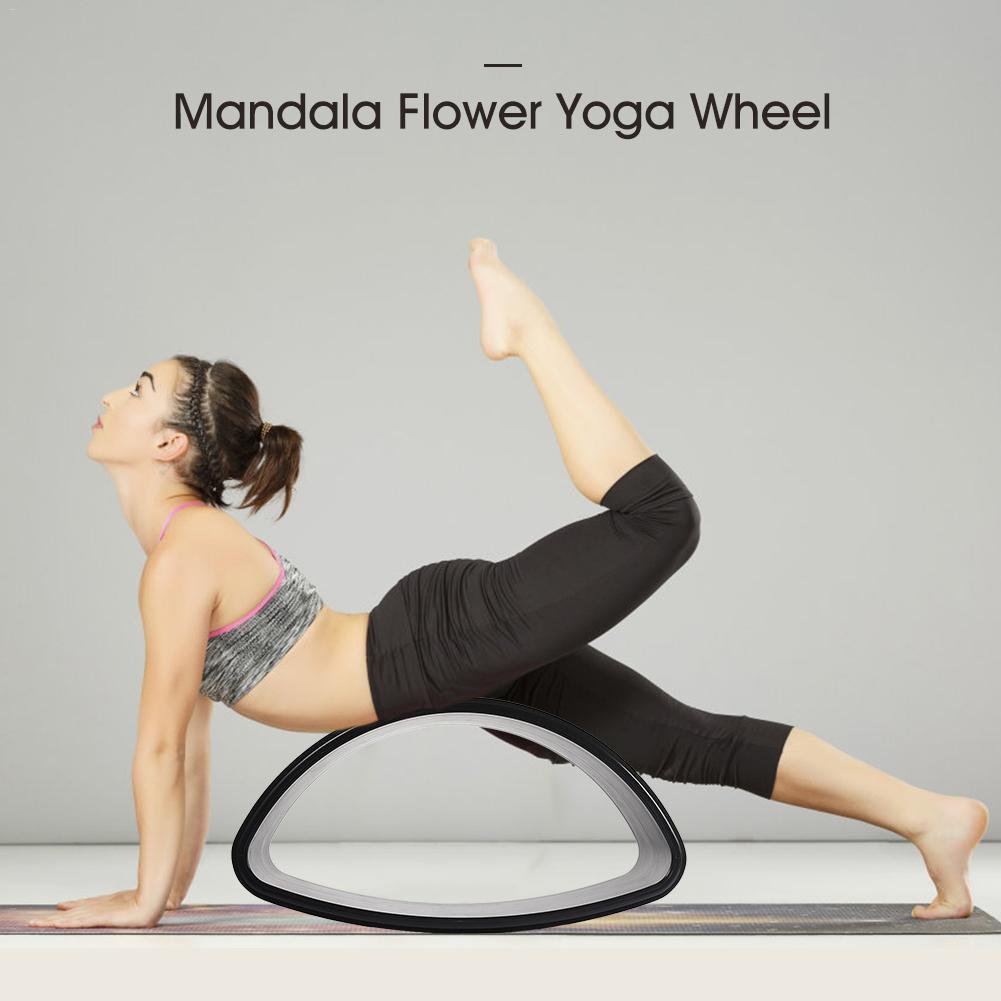 Círculos de madeira Roda de Esportes Yoga