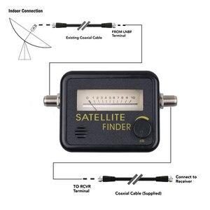 Image 3 - Medidor de satélite digital, ferramenta ponteiro de sinal de tv digital fta lnb satv para caixa de tv