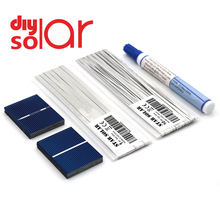 Tự Làm Bảng Điều Khiển Năng Lượng Mặt Trời 5W 6W 10W 15W 20W 25W 30W 40W 50W Bộ Polycrystall Pin Năng Lượng Mặt Trời Tabbing Dây Busbar Thông Lượng Bút