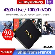 Best Europe Arabic TV Box Smart Android 6.0 Amlogic S905X with 1300 IPTV Channels French Italy UK Germany IPTV Box Media Player цена в Москве и Питере