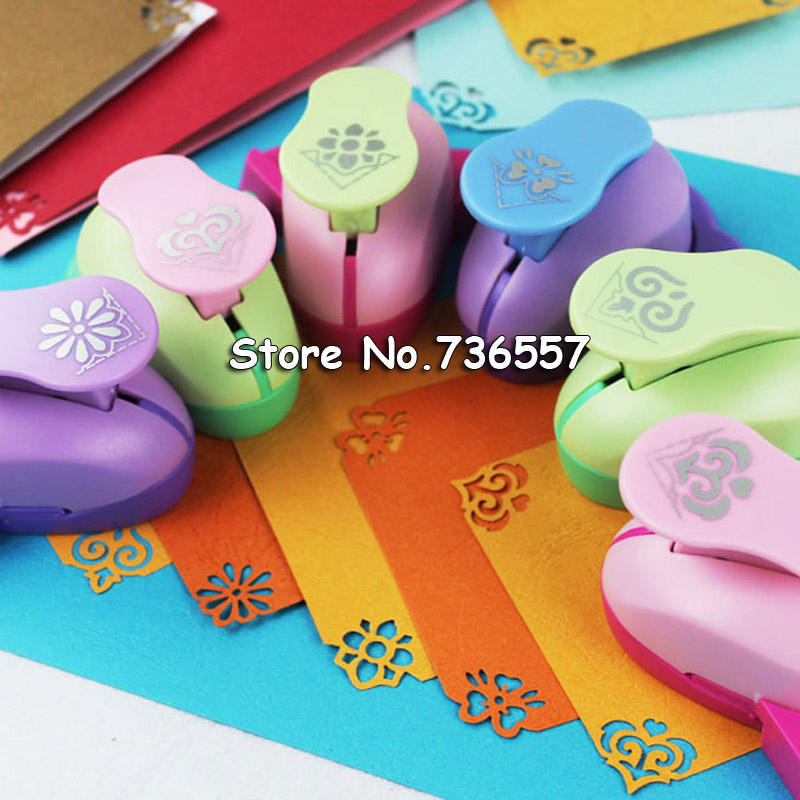 1pc Embossing DIY Corner Paper Printing Card Cutter Scrapbook Shaper Large Embossing Device Hole Punch Kids Handmade Craft Gift