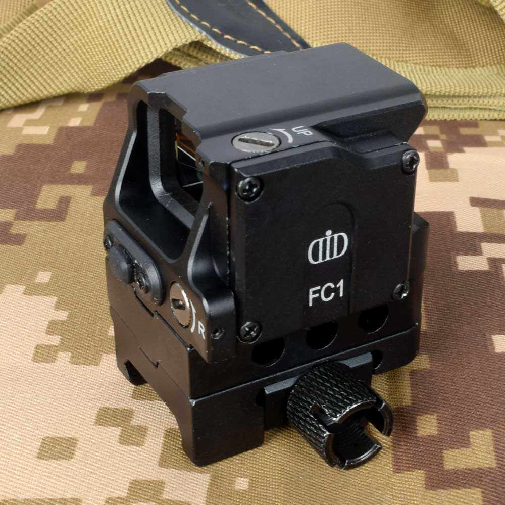 Di Optik FC1 Red Dot Sight Lingkup Reflex Sight Holographic Sight untuk 20 Mm Rail Berburu Lingkup