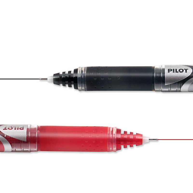12 sztuk japonia PILOT długopis żelowy BXGPN-V5 ulepszona wersja prosta płynna końcówka igłowa głowa długopis na bazie wody 0.5mm hi-tecpoint V5 Grip