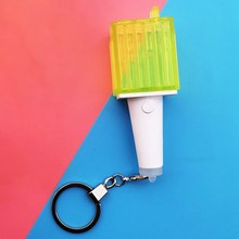 Kpop Nct Mini Bovenlicht Sleutelhanger Concert Ondersteuning Lightstick Hamer Licht Led Hand Lamp Nct Light Stick Sleutelhanger Fans Collection(China)