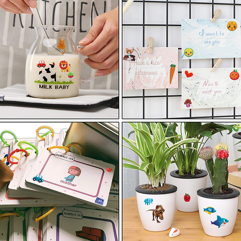 3D Stickers for Kids Toddlers 20/8 Different Sheets 3D Puffy Bulk Sticker Cartoon Education Classic Toy Children Boys Girl Gifts 6