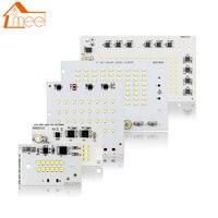10W 20W 30W 50W 100W SMD LED 칩 220V 스마트 IC LED 칩 전구 야외 투광 조명 콜드/따뜻한 화이트|LED 칩|등 & 조명 -