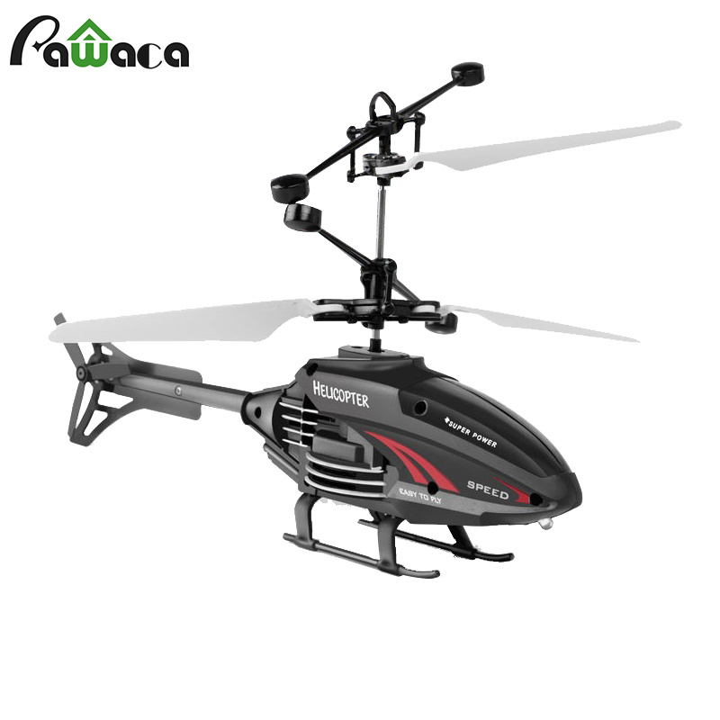 Helicopter Flying Toys With Rechargeable Mini Infrared Induction Drone Rc Toys Induction Helicopter For Boys Girls Indoor Games