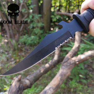 Image 5 - Tactical Serrated Short Knife Self defense Portable Multi function Knives Good Hunting Camping Survival Outdoor Everyday Carry