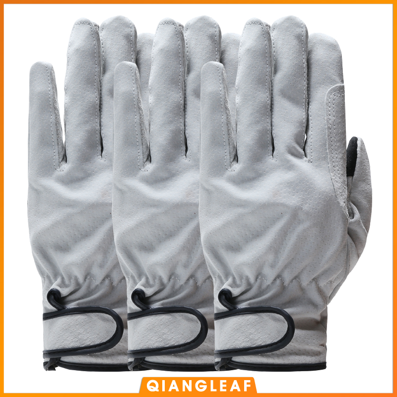 QIANGLEAF Топ 3 шт продукт спилок сварочные рабочие перчатки износостойкие защитные перчатки для рабочих кожаные рабочие перчатки 321