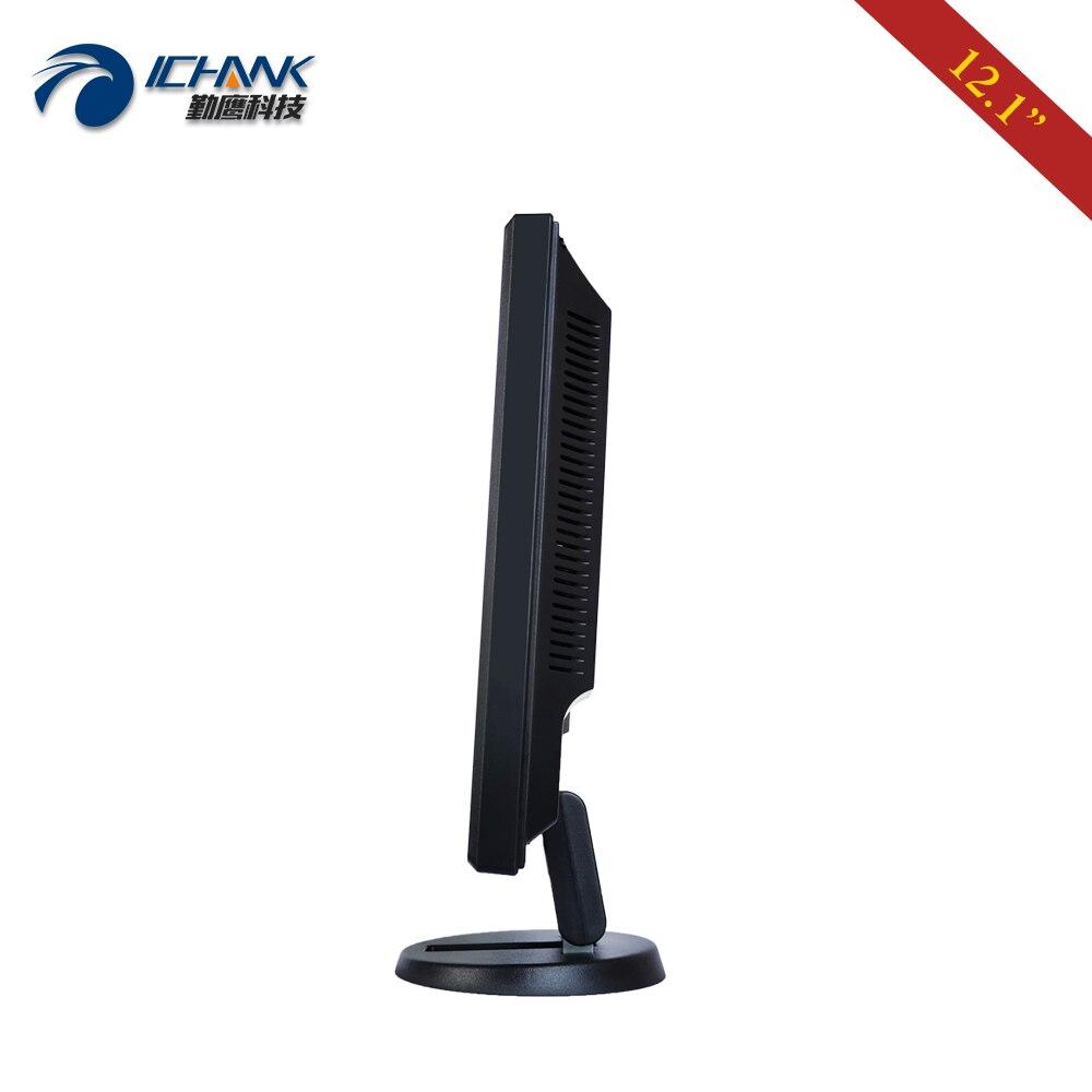 ZB120JC V591/12 pulgadas 800x600 USB HDMI VGA Industrial Médico POS pedido máquina pantalla LCD táctil resistiva Monitor pantalla - 3