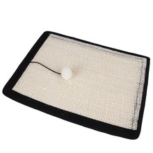 1 set Sofa Protector Cotton linen Cat Claw Anti-scratch Cloth Scratching Guard Furniture Protection claw board For Pet