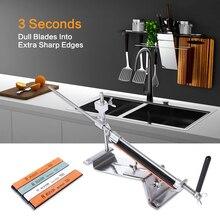 RUIXIN PRO III точилка для ножей Профессиональная полностью железная сталь кухонная система заточки инструменты фиксированный угол с 4 камнями точильный камень