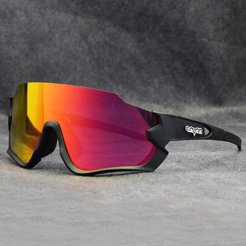 2020 Mountain Bike spolaryzowane okulary rowerowe gogle kolarskie mężczyźni okulary rowerowe okulary okulary rowerowe okulary sportowe tanie i dobre opinie kapvoe Polarized lens + UV400 55mm cycling glasses MULTI 145mm Poliwęglan Unisex Octan