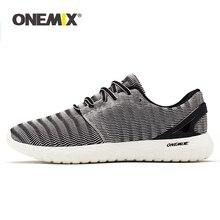 Onemix 2020 homens leve tênis de corrida ao ar livre sapatos de caminhada tênis flexível macio verão respirável sapatos esportivos