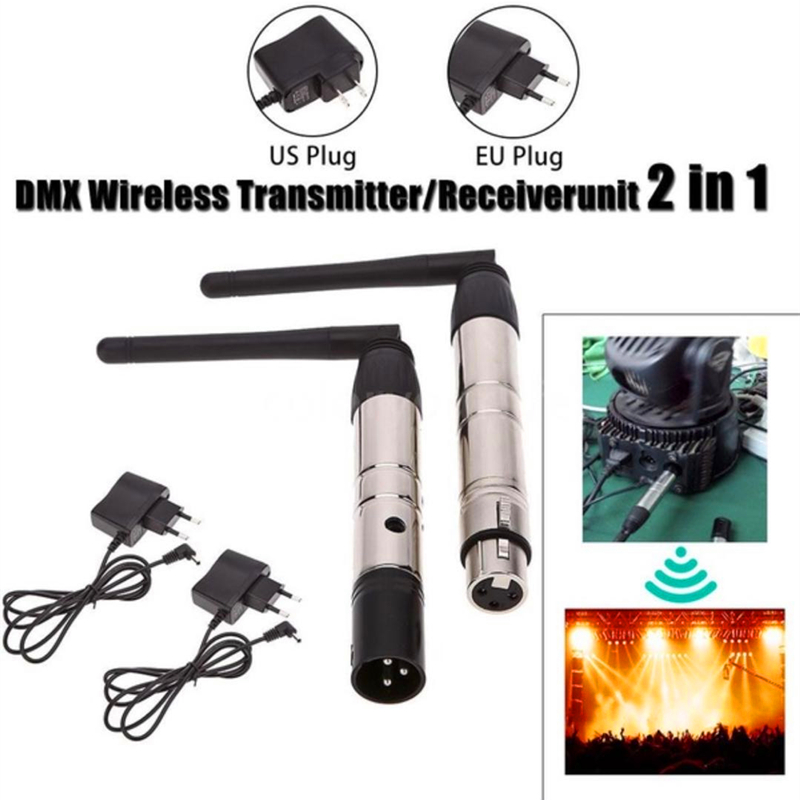 DMX512 DMX Dfi DJ Wireless System Receiver Or Transmitter 2.4G ISM Communication Distance 500M For LED Stage Light LED Lighting