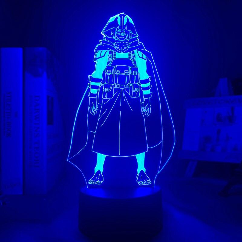H701d71340c7445be801772ac253f41f7P Luminária My Hero Academia Boku no Hero Academy Anime meu herói academia amajiki tamaki conduziu a lâmpada luz da noite para o quarto deco presente de aniversário amajiki tamaki 3d lâmpada meu herói academia