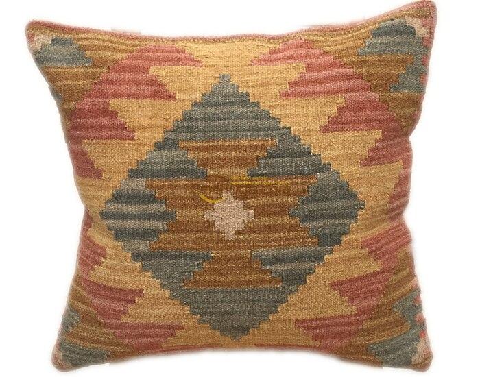 24x24 inches 60x60 cm Accent Pillow,Large Pillow,Carpet Pillow,Moroccon Pillow,Decorative Pillow,Ethnic Pillow,Antique Pillows,Rug Pillows