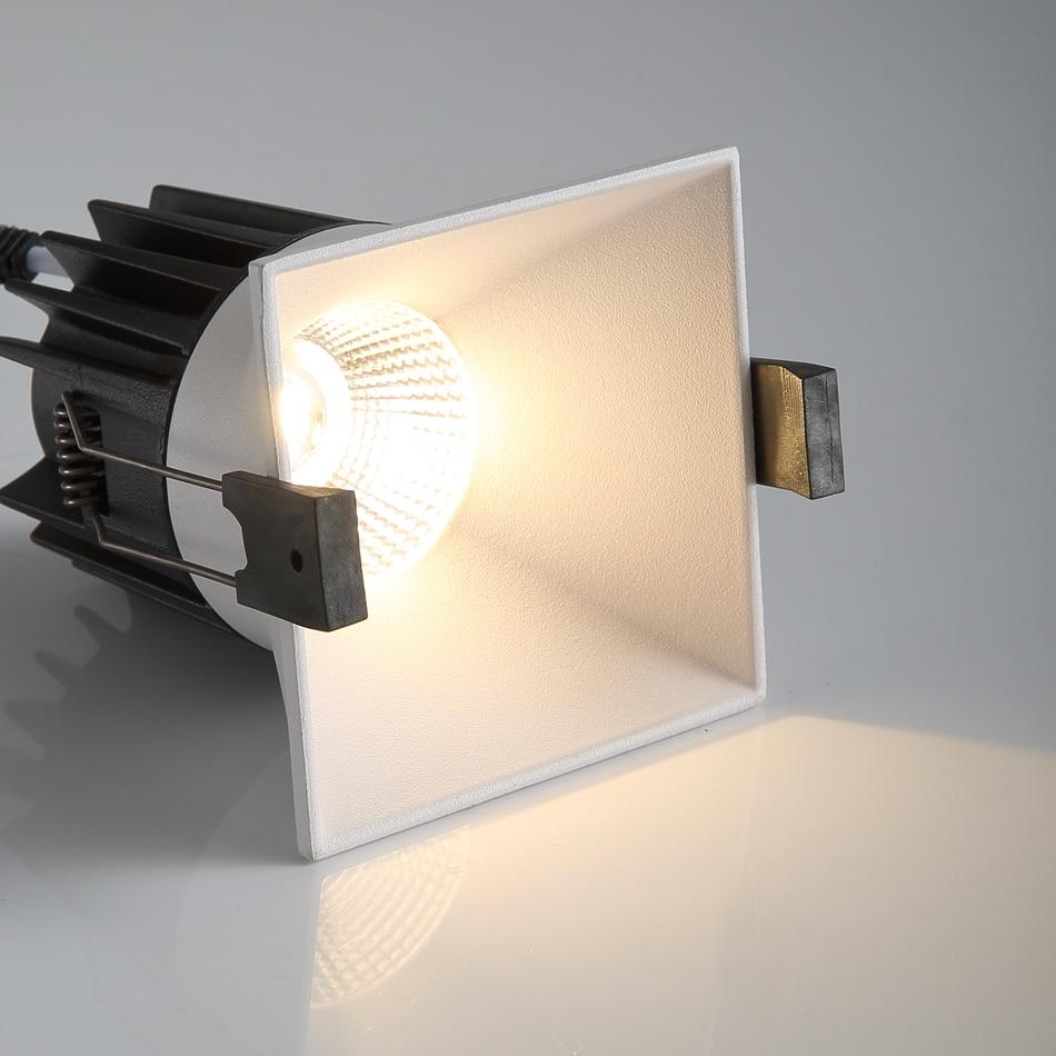 LED Downlight Narrow Border Soften Light Home Lighting Embedded High Lumen Ceiling Lamp High Brightness Spot Light