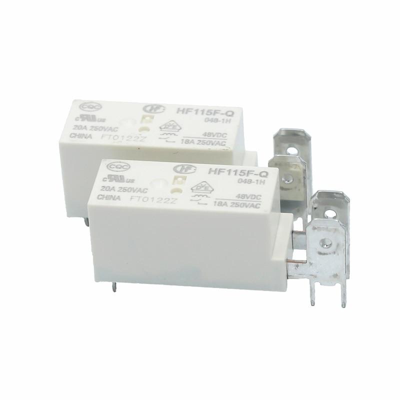 10PCS 8Pins 24V JQX-115F-024-2ZS4 HF115F-024-2ZS4 8A 250VAC HONGFA Power Relays