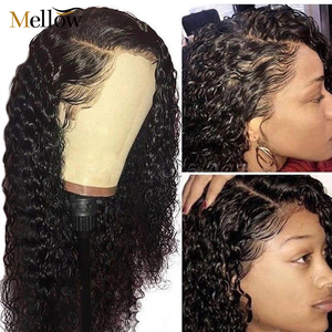 Deep Wave Lace Front Human Hair Wigs Short Bob Deep Curly Lace Wigs Bresilienne Water Wave Human Hair Wigs For Women