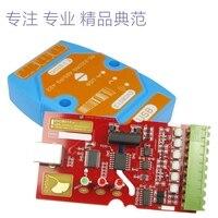 무료 배송 절연 컨버터 EVC8013 절연 컨버터 보호 USB to RS485 232 422 센서