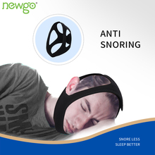 Anti-Snoring Chin Strap Device Adjustable Snore Reducing Aids for Men and Women Use for Stop Snoring Jaw Strap Sleep Helper