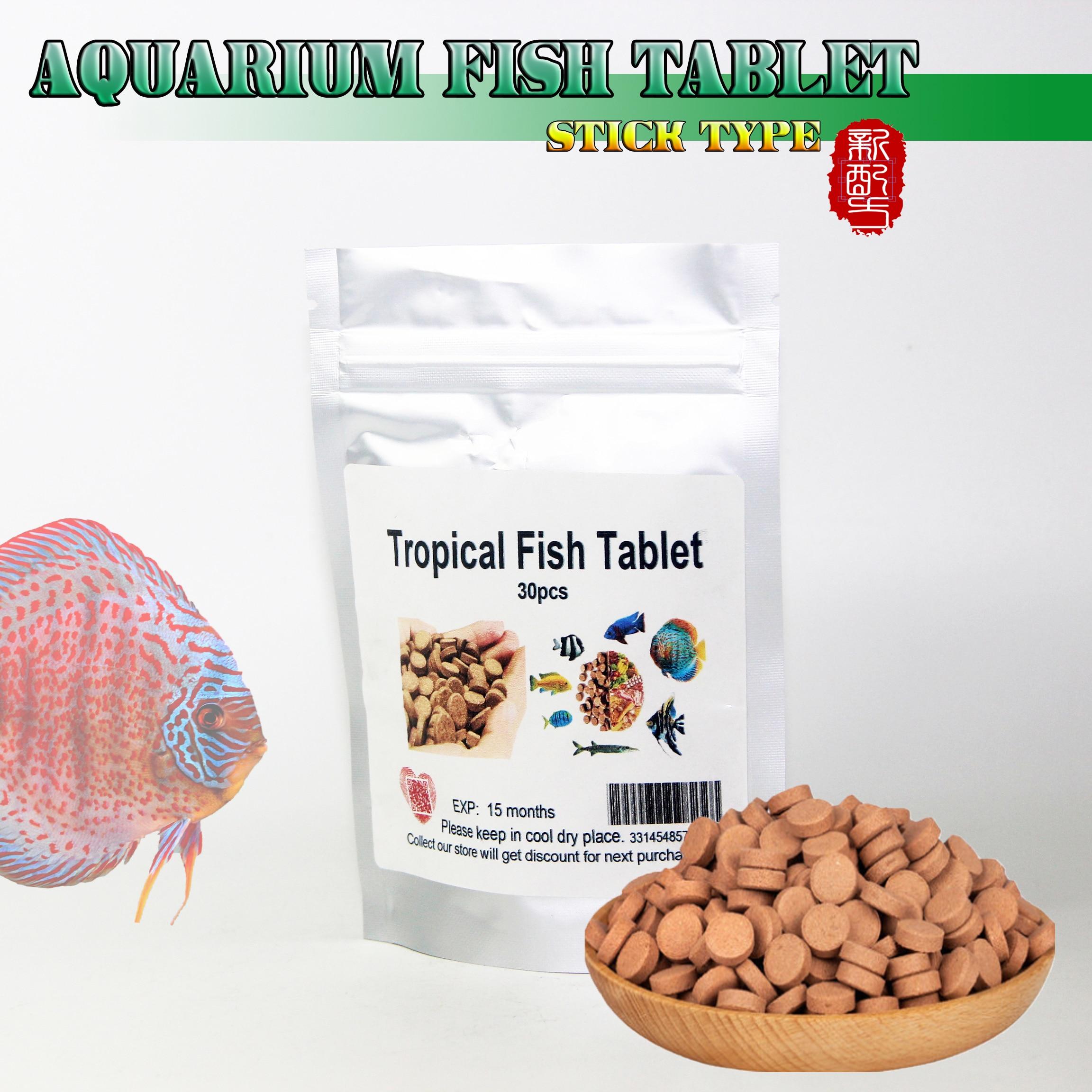 High Protain Aquarium Fish Food FISH Peces TABLETS For Tropical Fish Goldfish Discus MARINE Fish Feeding Fish Pills Heathy Feed