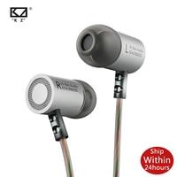 KZ ED4 Metall Stereo Kopfhörer Ear In-ohr Musik Ohrhörer mit Mikrofon für Handy für ED9 ZSX s1 S2 ZS3