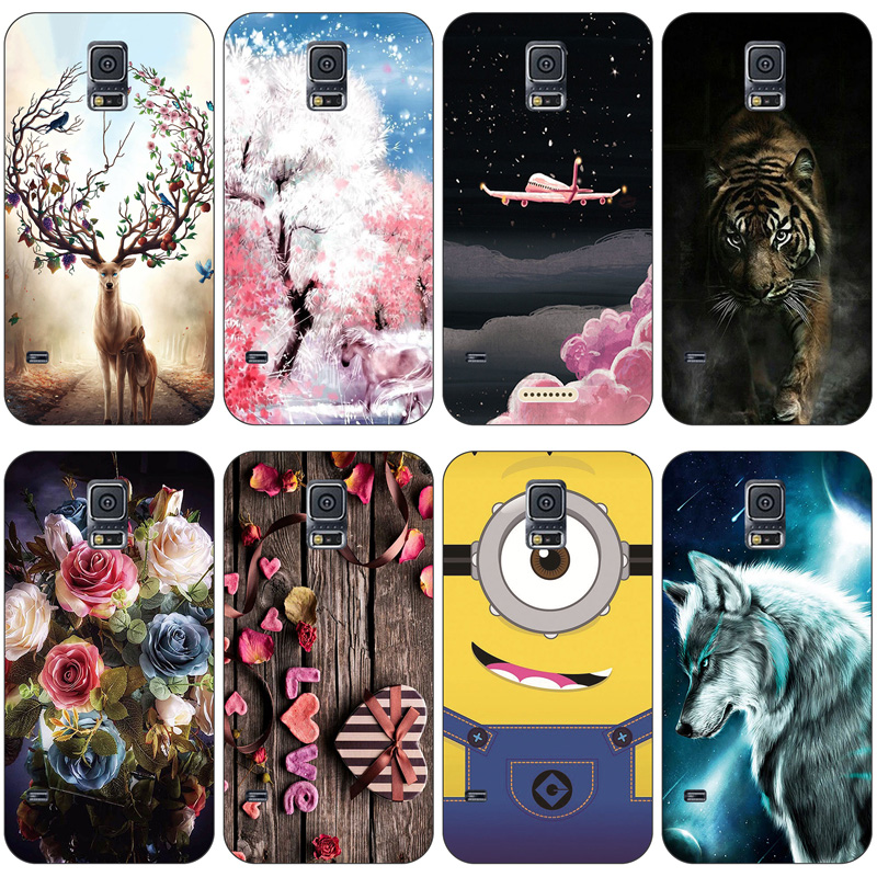 Soft Silicone <font><b>case</b></font> For <font><b>Samsung</b></font> <font><b>Galaxy</b></font> <font><b>S5</b></font> <font><b>Cases</b></font> phone shell Cover For <font><b>Samsung</b></font> <font><b>S5</b></font> Neo <font><b>Case</b></font> Capa For <font><b>Samsung</b></font> <font><b>S5</b></font> i9600 SM-<font><b>G900F</b></font> new image