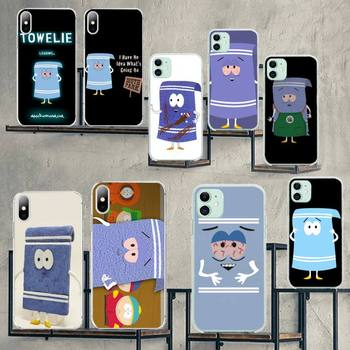 CUTEWANAN New towelie episode Bling Cute Phone Case for iPhone 11 pro XS MAX 8 7 6 6S Plus X 5S SE 2020 XR cover image