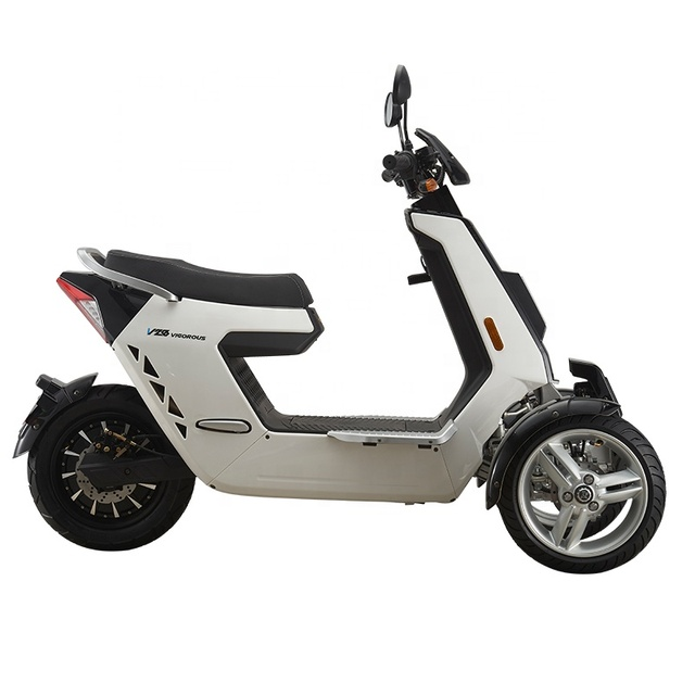 EEC Approved Street Legal 3 Wheels Front 2 Wheels Type Electric Motorcycle 3000W 72V40AH Electric Mobility Scooter Off Road 6