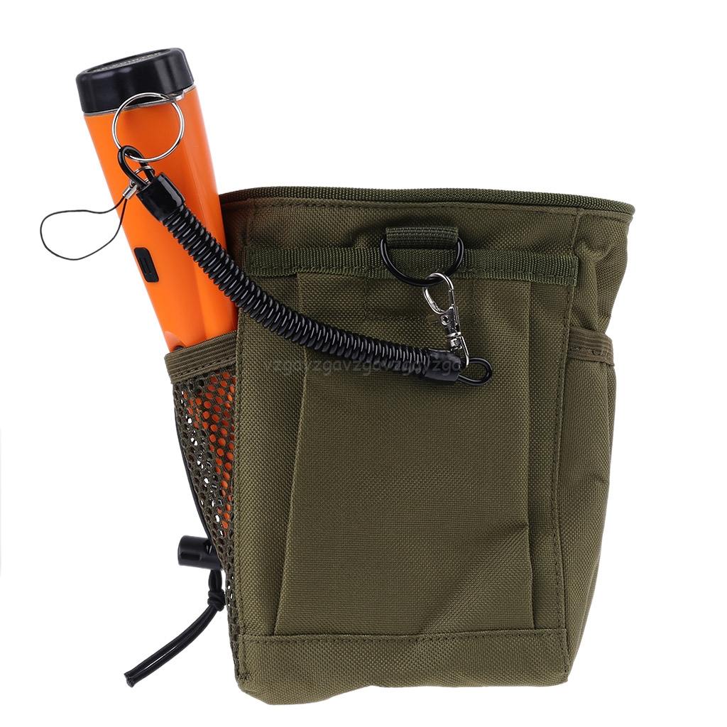 Metal Detecting Pouch Bag Digger Supply Treasure Waist Luck Recovery Finds Bag Pinpointer Shovel Metal Detector Bag S21 19
