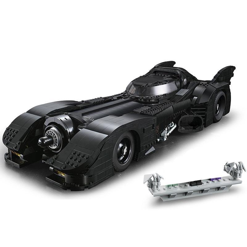 New 76139 Batman 1989 Batmobile Model 3856Pcs Building Kits Blocks Bricks Toys Children Gift Compatible 59005