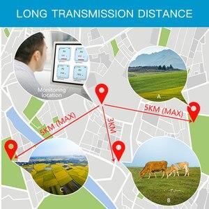 Image 5 - LoRa senza fili di umidità del terreno ph sensore 433/868/915mhz di umidità di temperatura ph conducibilità elettrica 4 in 1 sensore di data logger