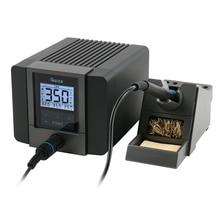 Быстрый TS1200A высокой мощности ESD светодиодный дисплей Бессвинцовая паяльная станция функция сна 120 Вт 110 В 220 В для ремонта скорости материнская плата телефона PCB IC cpu Пайка Ремонт