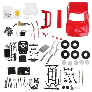 C14 1:16 RC Truck 1:16 2.4G Mini Off-Road Remote Control Car 15Km/H Top Speed Mini RC Monster Truck 4WD KIT