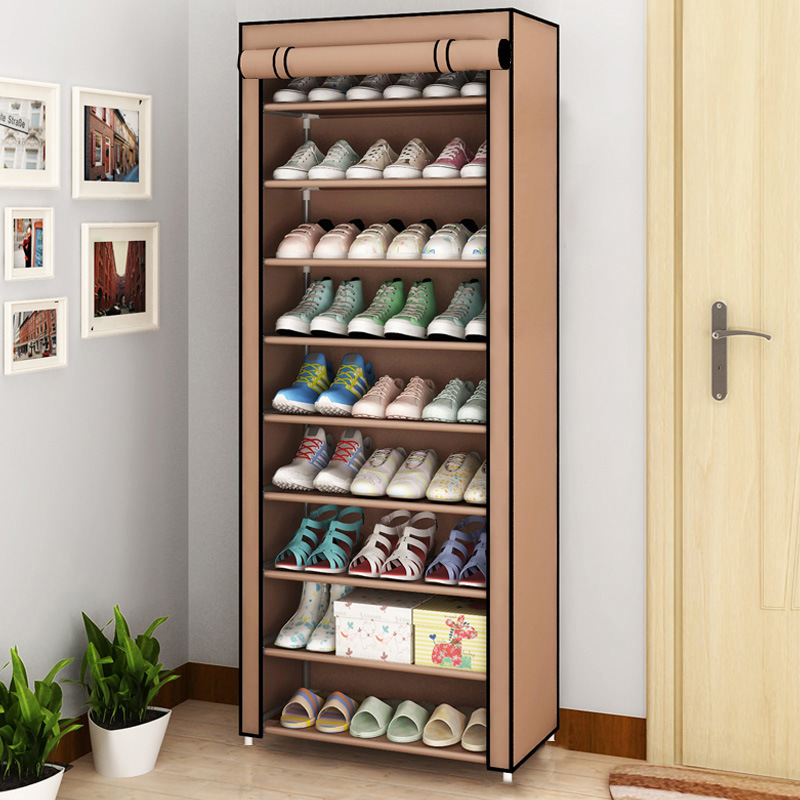 Multi-layer Assembled Shoe Rack Dust-proof Storage Shoe Cabinet Home Shoe Stand Dormitory Simple Storage Shelf Organizer Holder 3