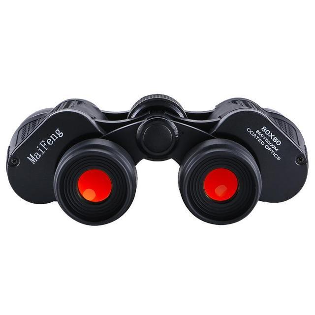 Binoculars 80X80 Long Range 15000m HD High Power Telescope Optical Glass lens Low light night vision for Hunting Sports scope 3